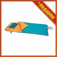 Спальный мешок односпальный BW 68101 на молнии (Синий),Спальни мешок,Спальный мешок для рыбалки,Спальный