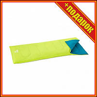 Спальный мешок односпальный BW 68099 в чехле (Жёлтый),Спальни мешок,Спальный мешок для рыбалки,Спальный