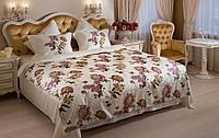 Элитное постельное белье Kasimpati Евро с большой простыней 275-275 см Премиум класс