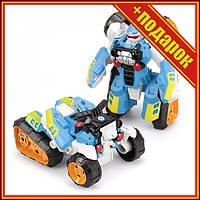 Дитячий трансформер 675I робот+квадроцикл,Іграшки трансформерів,Роботи машинки,Тоботы