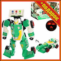 Дитячий трансформер D622-H04 робот+машинка (Зелена),Іграшки трансформерів,Роботи машинки,Тоботы