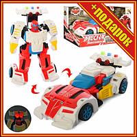 Дитячий трансформер D622-H04 робот+машинка (Червона ),Іграшки трансформерів,Роботи машинки,Тоботы