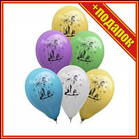 """Шарик латексный """"Песик"""", 100 шт,Шарики сердечки фольгированные,Шарики на день рождения,Шарик"""