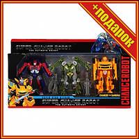 Набір Трансформерів 39-33 в наборі 3 шт, 10 см (Дракони),Іграшки трансформерів,Роботи машинки,Тоботы