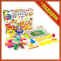 """Набор для лепки """"День рождения"""",Легкий прыгающий пластилин,Набор для лепки детский,Тесто для лепки плей"""
