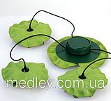 Підсвічування для басейну - плаваючий лотос на сонячній енергії ТРІО, фото 6