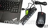 USB-хаб  7 портов концентратор, разветвитель Белый, фото 2
