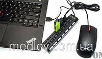 USB-хаб  7 портов концентратор, разветвитель, фото 1