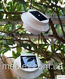 Светильник на солнечной батарее  3 LED «НЛО» 1300 мАч, фото 4
