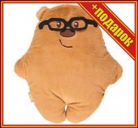 """Подушка """"Мишка в очках"""",Подушка пони,Подушка сплюшка,Подушка обнимашка для беременных,Подушка"""