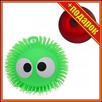 """Шар-светяшка """"Глазастик"""", зеленый,Светящиеся игрушки для детей,Игрушки антистресс для детей,Силиконовые"""