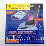 Охлаждающая Подставка для ноутбука NOTEBOOK HOLDER, фото 3