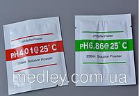 Буферный порошок pH 6.86 и pH 4.01 для калибровки РН - метра