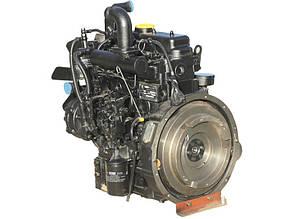 Двигатель КМ385ВТ 3- цилиндра, 4т, 24 л.с., вод. охлаждение