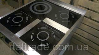 Индукционная плита напольная 3 конфорки по 1,8 кВт и 1 конфорка по 3,5 кВт