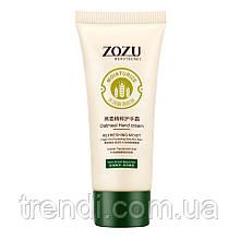 Поживний і пом'якшувальний крем для рук з екстрактом вівса ZOZU Oat Protein