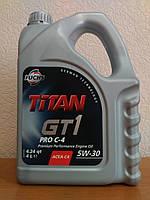Моторное масло FUCHS TITAN GT 1 PRO C4 5w-30 (4л.) для RENAULT и NISSAN