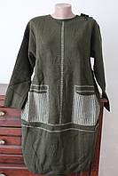 Плаття жіноче з кишенями в клітинку