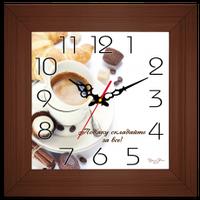 """Годинник в багеті """"Подяку складайте за все"""""""