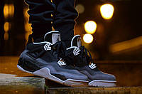 Nike Air Jordan IV Retro Black-Grey