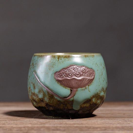 Чашка для чаепития с лотосом