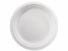 Паперові тарілки 17 см 175 шт Чінет білі