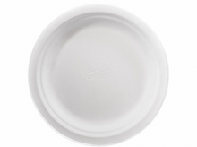 Паперові тарілки 22 см 50 шт Чінет бежеві