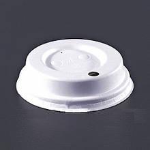 Кришки для стаканів Huhtamaki з паперового волокна білі d 90 50 шт (для DW12, 16)