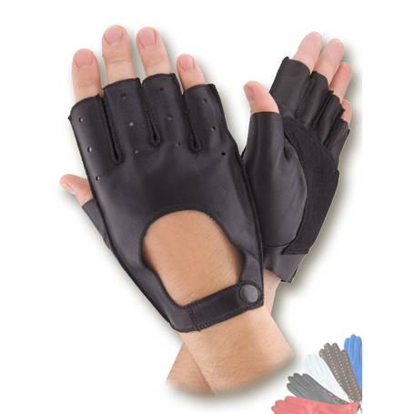 Рукавички шкіряні IG модель 027 без підкладки, фото 2