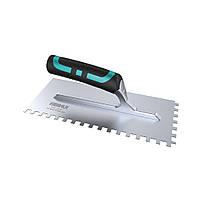 Зубчастий шпатель BIHUI з нержавіючої сталі(зуб 12мм),280х115  (PTSB10)