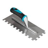 Зубчастий шпатель BIHUI з нержавіючої сталі(зуб 12мм),280х115  (PTSB12)