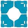 Протектор BIHUI для захисту кутів плитки 8мм, 4 шт (LFTP08)