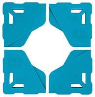 Протектор BIHUI для захисту кутів плитки 8мм, 4 шт (LFTP08), фото 1