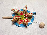 Детская игрушка деревянная Курочки