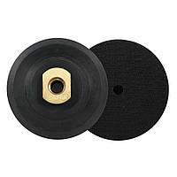 Тримач-насадка гумова BIHUI для шліфувальних дисків з липучкою ∅100мм М14 (DPPH4), фото 1