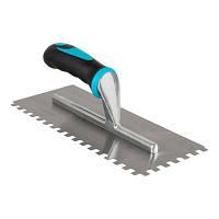 Зубчастий шпатель BIHUI з нержавіючої сталі (зуб 12мм),280х115  (PTCB12)
