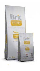 Брит Кер Паппи 400гр суперпремиумкорм для щенков мелких пород Brit Care GF Mini Puppy Lamb, фото 2