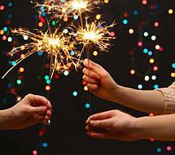 Бенгальские огни 70см 5шт, новогодние огни 70 см, праздник, новый год