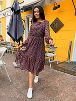 """Сукня жіноча молодіжне, шифонова, розміри 42-52 """"NOBILITAS"""" недорого від прямого постачальника"""