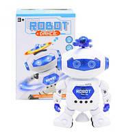 Робот-танцюрист, світло, звук