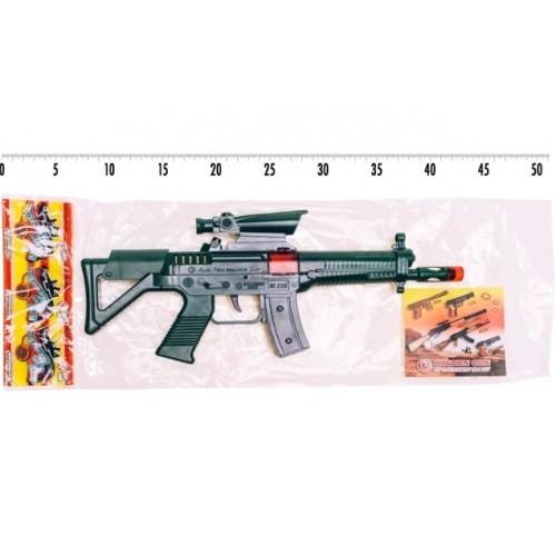 Автомат на пістонах 801 М116 Джей іграшковий  пакет 35*16 см