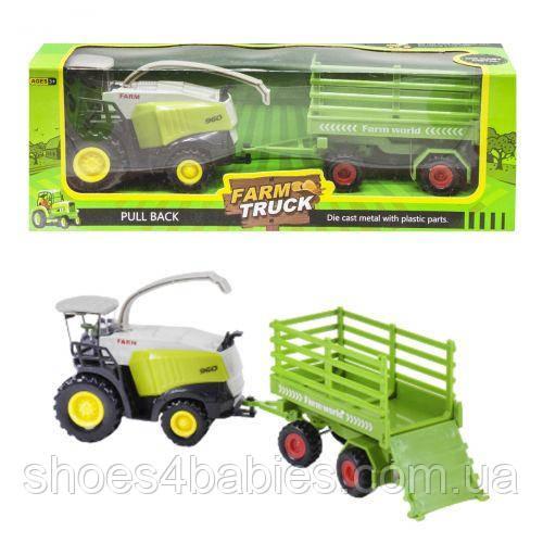 """Трактор """"Farm Truck"""" з перевезенням"""