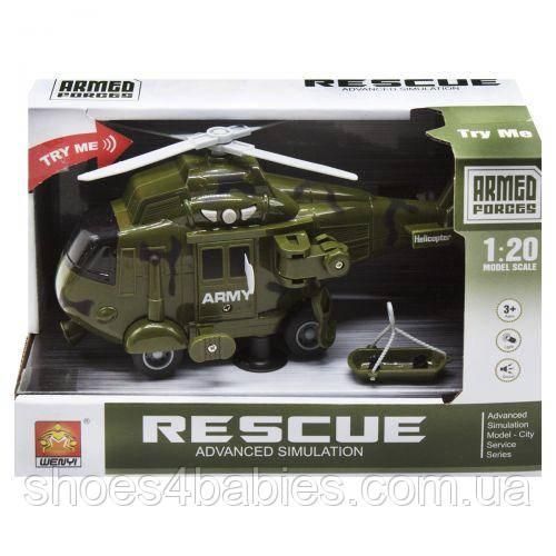 """Вертолет """"Air Rescue"""", зеленый"""
