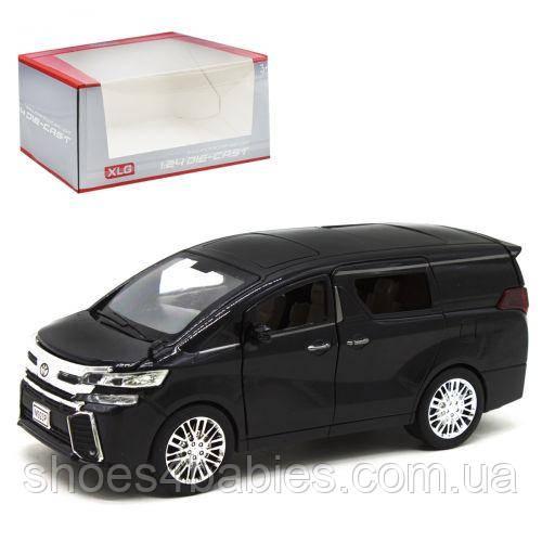 """Машинка """"Toyota Alphard"""", черный"""