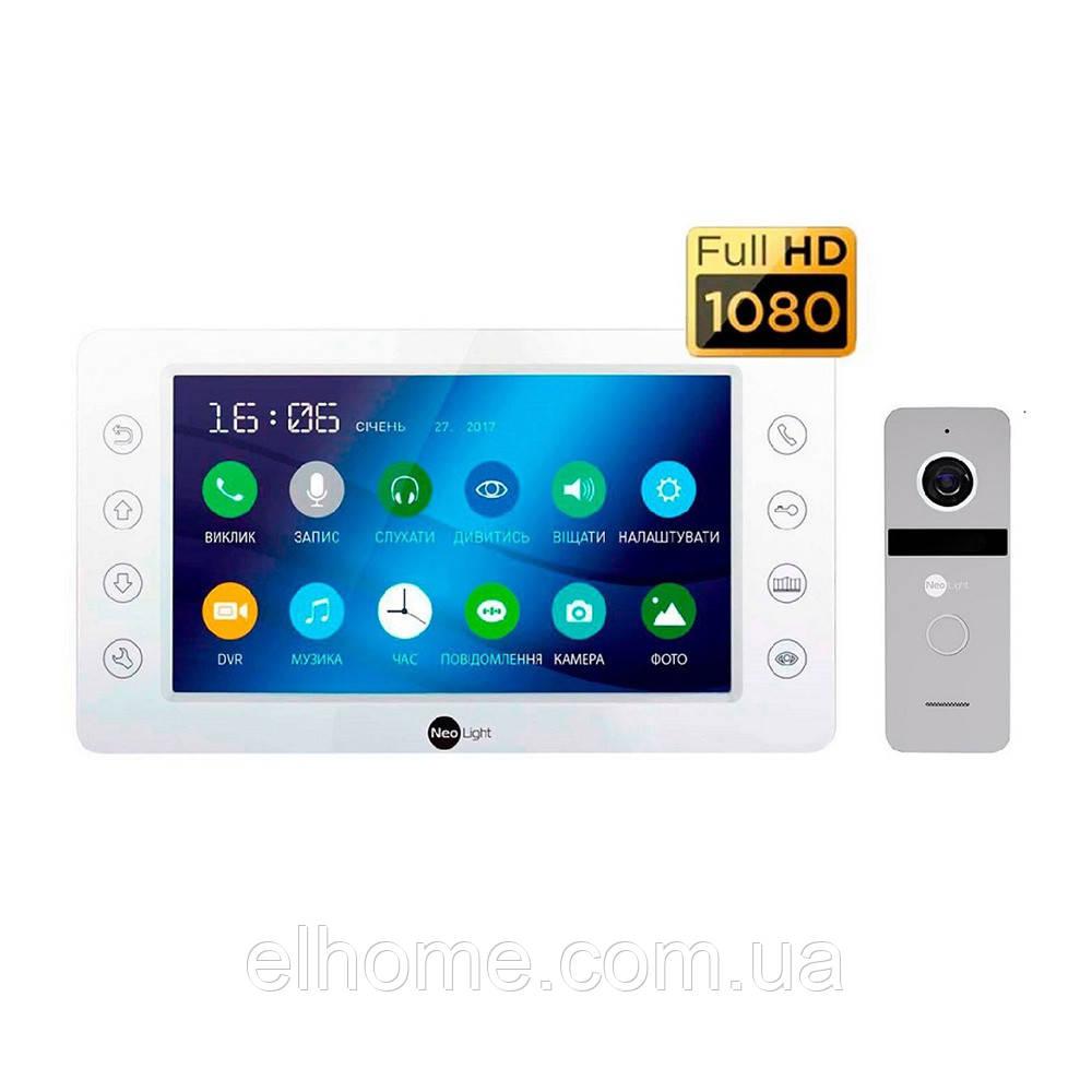 Комплект відеодомофона NeoLight KAPPA HD Kit Silver