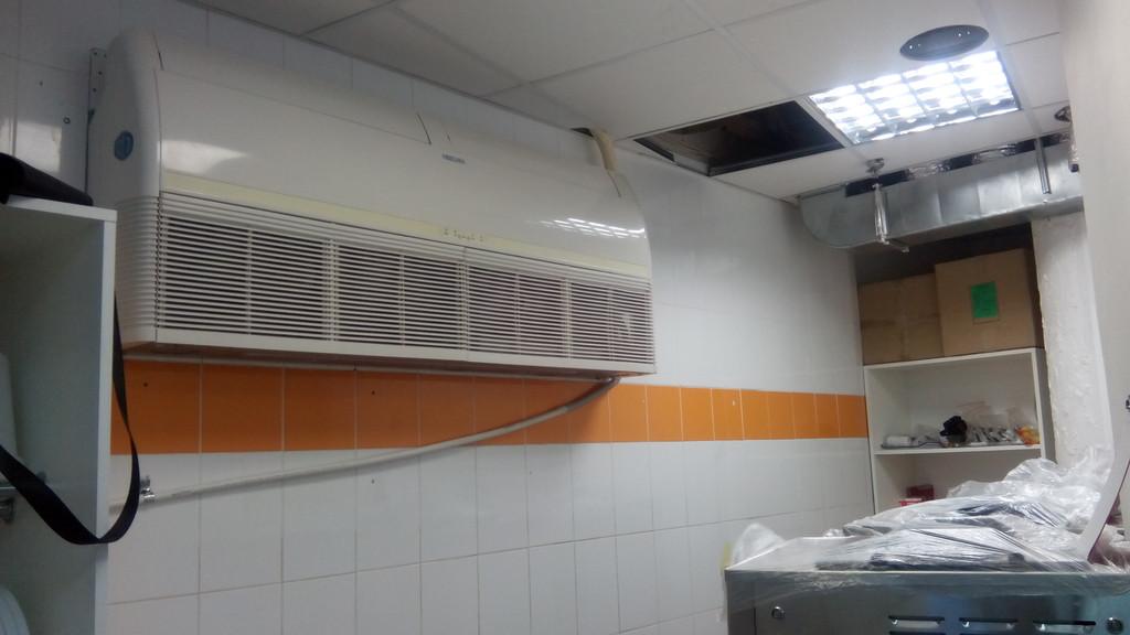 Напольно-потолочный блок Neoclima 17 кВт по холоду