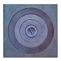 Плита чугунная 1-но конфорочная варочная 365х375мм 9,6 кг Булат