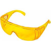 Очки защитные желтые
