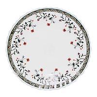 Тарелка стеклокерамическая 19см десертная Мильфлер (6шт/уп) S&T