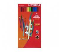 Карандаши цветные Stabilo Color 18 цветов 1918/77-01, 290220